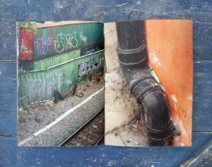 cambridge junc photozine needles graffiti spread